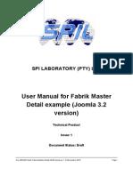 Fabrik Tutorial Master Detail JM 32 Version1