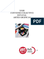 Convenio Graficas 2012 2013