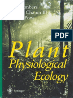 Plant Ecology Phisiologic Lambers Et Al 1998 (Ecosystem and Global Processes)