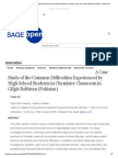 A Case Study of the Common Difficulties Experienced by High School Students in Chemistry Classroom in Gilgit-Baltistan (Pakistan) _ SAGE Open