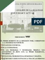 Método de Reflexión Ver-juzgar-Actuar Para Exponer Hoy