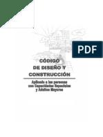 CODIGO Ordenanza Para Discapacitados y Adultos Mayores (30