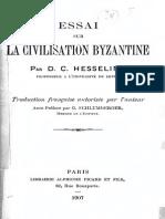 Essai Sur La Civilisation Byzantine - Hesseling (1907)