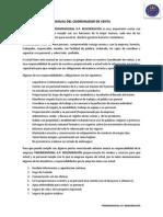 Manual de Coordinador de Ventas