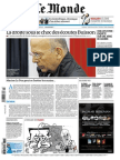 Journal LE MONDE Et Supplement ECO Du Jeudi 6 Mars 2014