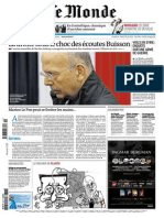 Journal LE MONDE Et Supplement ECO Du Jeudi 6 Mars 2014