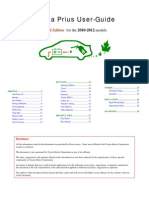 Prius User Guide
