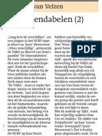 Trouw Joost Van Velzen 27 November 2009