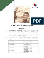 Convocatoria Copa Angel Rodriguez 2014