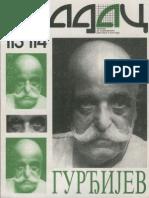Časopis Gradac - Gurđijev