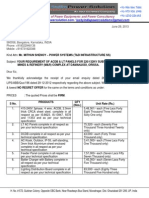 Revised Quotation-ACDB & LT Panels-Nalco