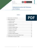 Manual Administración Registro Visitas v 1.1