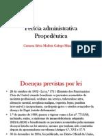 Pericia administrativa propedeutica