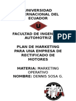 Proyecto Marketing