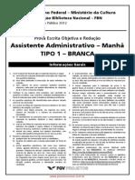 Fgv_assistente Administrativo 1