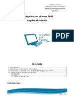 Applicants Guide LLP EForms 2010