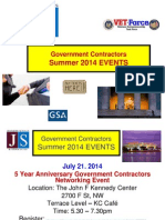 Government Contracting & Federal Procurement Info