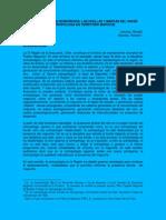 Morales R y Cancino, R 2003 Antropologia Desbordada en Territorio Mapuche