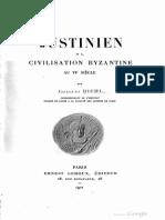 Justinien Et La Civilisation Byzantine - Diehl (1901)