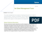 Gartner Client Management Magic Quadrant 2013