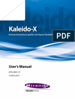 Kaleido X UserManual