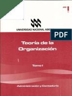 Teoria de La Organizacion Tomo I