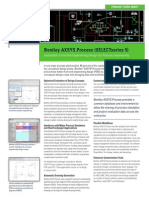 Bentley Axsys Process Product Data Sheet