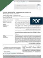 2014 Efecto de Un Programa de Actividad Física en Pacientes Con Fibromialgia, Revisión Sistemática