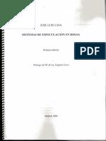 Cava Jose Luis - Sistemas de Especulacion en Bolsa