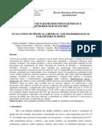 Parâmetros Físico-químicos e Microbiológicos Em Mel