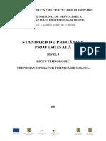 SPP_Nivel 3_Tehnician Operator Tehnica de Calcul