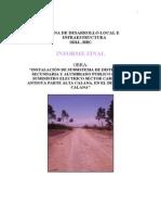 Informe Final Carretera Antigua Red Secundaria