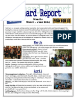 Newsletter March-June 2014