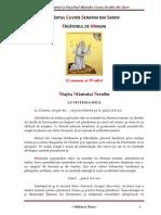 Slujba, Acatistul si Paraclisul Sfantului Cuvios Serafim Din Sarov