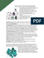 Propiedades de La Fluorita