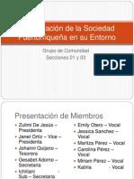 Actualización de La Sociedad Puertorriqueña en Su Entorno