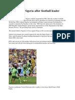 FIFA Warns Nigeria After Football Leader Arrested