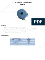 14 Sensor Current 100a-50ma