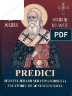 Sf. Serafim Sobolev Predici