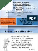 Presentacion de Manuales de Puestos de Trabjo 2014 Ciclo i (1)