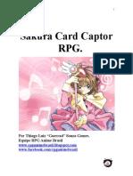 Sakura Card Captors Rpg - Modulo Basico