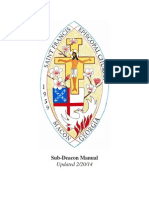 St. Francis Episcopal Church Sub-Deacon Manual