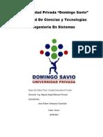 14-09 Proyecto BDD Para Unidad Educativa Privada