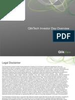 QLIK 2012 Investor Day Presentation