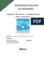 Controles Electricos y Automatizacion (Monografia)