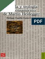 Capelle-Dumont, Philippe - Filosofia y Teologia en El Pensamiento de Martin Heidegger