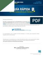 Guía Rapida Facturacion Electroncia Comunicado