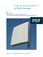 Microstrip Patch Antenna
