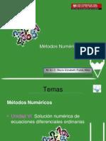 Unidad VI Ecuaciones Diferenciales