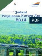 Jadwal KA Jarak Jauh Dan Menengah Gapeka 2014